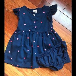Carters Navy Blue Dress